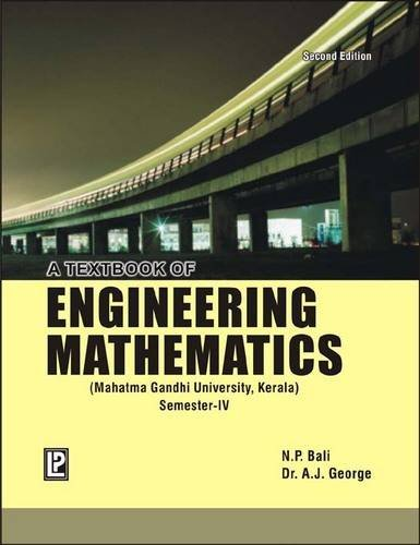 9788131804834: A Textbook of Engineering Mathematics (MGU, Kerala) Sem-IV