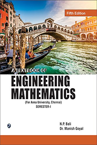 9788131805534: A Textbook of Engineering Mathematics Sem-I (Anna University)