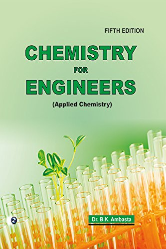 9788131805855: Chemistry for Engineers