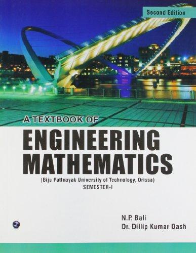 A Textbook of Engineering Mathematics Sem-I (BPUT,: Dillip Kumar Dash,N.P.