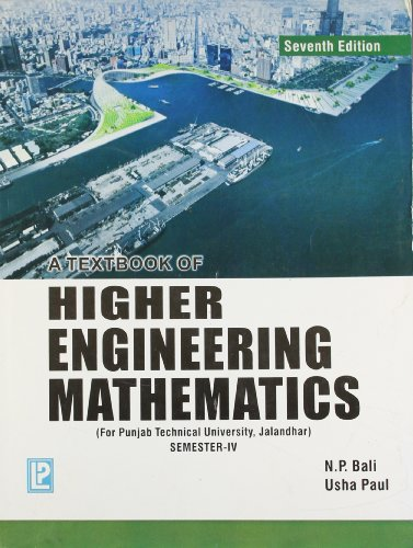 A Textbook of Higher Engineering Mathematics (PTU,: N.P. Bali,Usha Paul