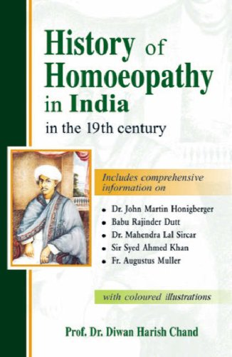 History of Homeopathy in India in the 19th Century: Chand, Diwan Harish