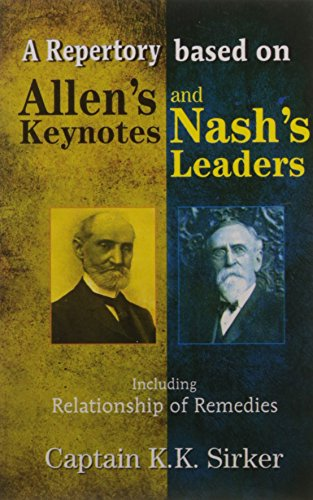 A Repertory Based on Allen`s Key Notes: H.C. Allen (Author)