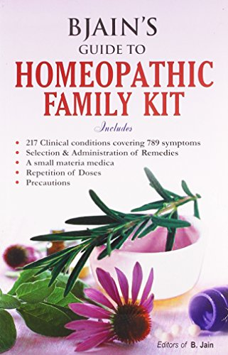 9788131901045: B. Jain's Guide to Homeopathic Family Kit