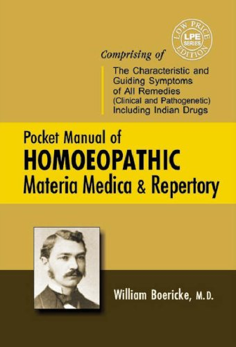 Pocket Manual of Homoeopathic Materia Medica &: Boericke William