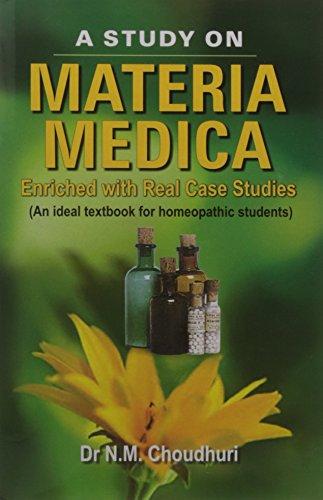 A Study on Materia Medica: Nm Choudhury