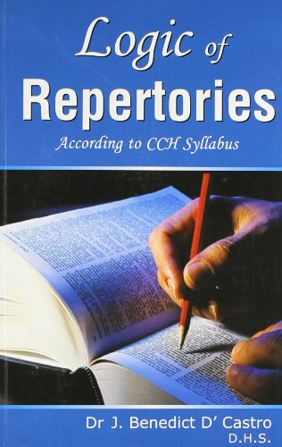 Logic of Repertories (According to CCH Syllabus): J. B. D. Castro