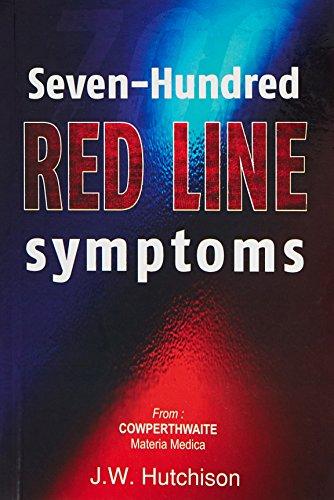 9788131903001: 700 Redline Symptoms from Cowperthwaite Materia Medica
