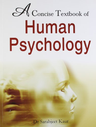 9788131903339: A Concise Textbook of Human Psychology