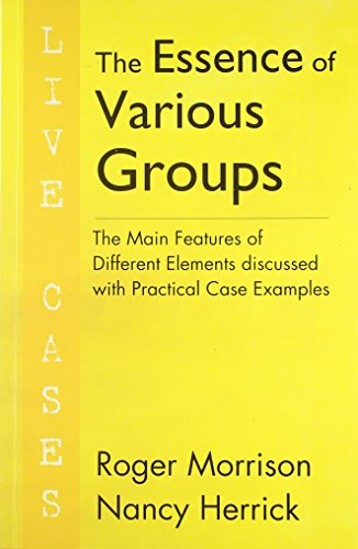 9788131903629: The Essence of Various Groups