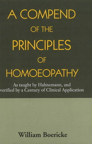 9788131905982: Compend of the Principles of Homoeopathy