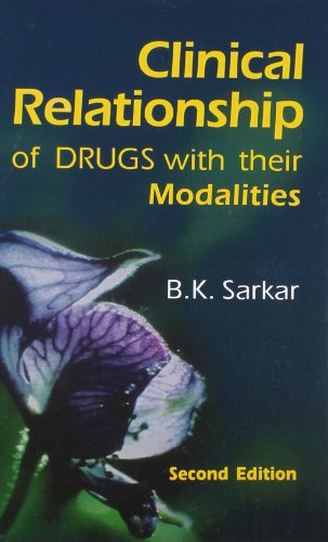 Clinical Relationship of Drugs with their Modalities: Sarkar B.K.
