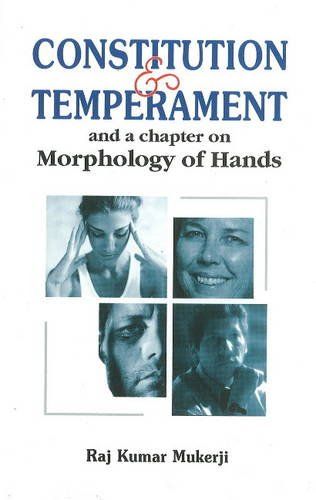 Constitution and Temperament: and a Chapter on: R. K. Mukerji