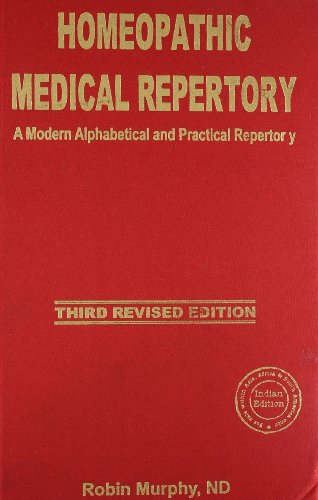 Homeopathic Medical Repertory, English: Murphy Robin