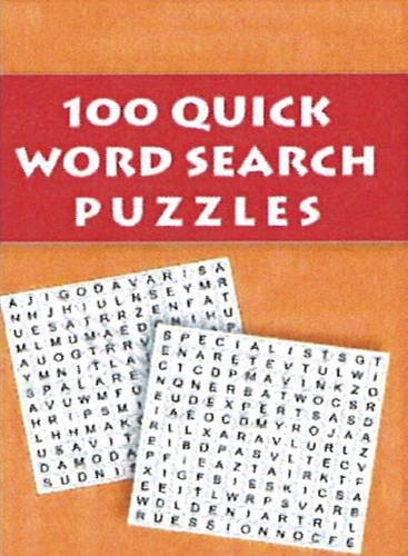 100 Quick Word Search (Puzzles): Pegasus