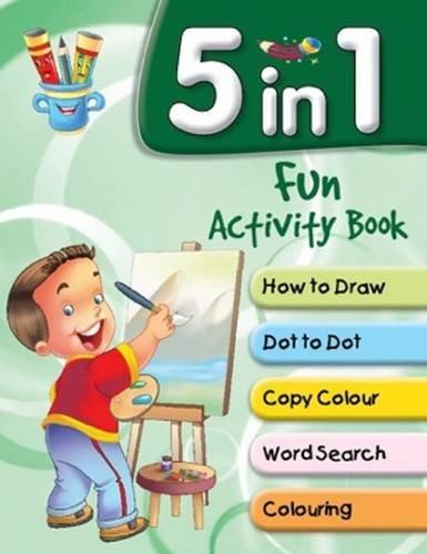 9788131934791: 5 in 1 Fun Activity Book