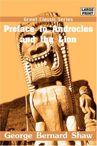 9788132006435: Preface to Androcles and the Lion