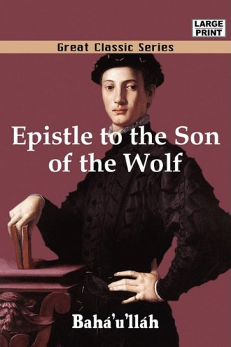 9788132013280: Epistle to the Son of the Wolf