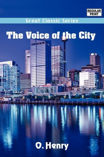 9788132024156: The Voice of the City