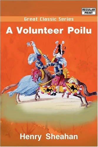 9788132028994: A Volunteer Poilu