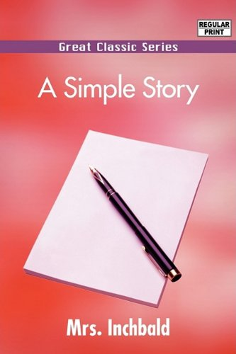 9788132053538: A Simple Story