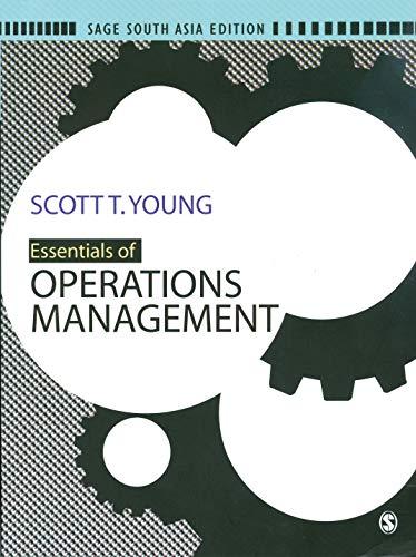 9788132102434: Essentials of Operations Management