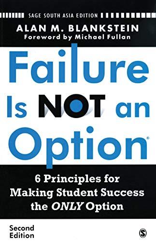 9788132104742: FAILURE IS NOT AN OPTION (R), 2E