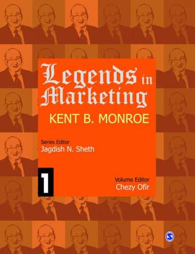 9788132105183: Legends in Marketing: Kent B. Monroe