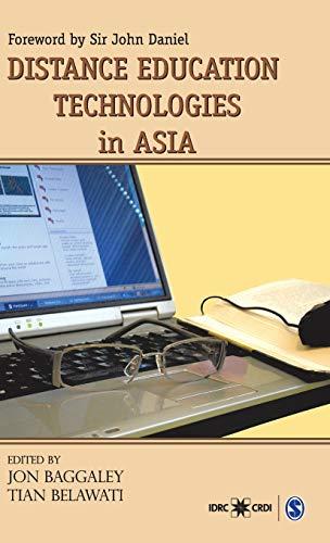 Distance Education Technologies in Asia: Jon Baggaley & Tian Belawati (Eds)