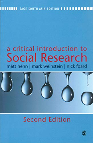 9788132105787: A Critical Introduction to Social Research