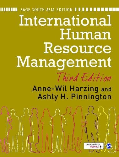 International Human Resource Management: Edited By Anne-Wil