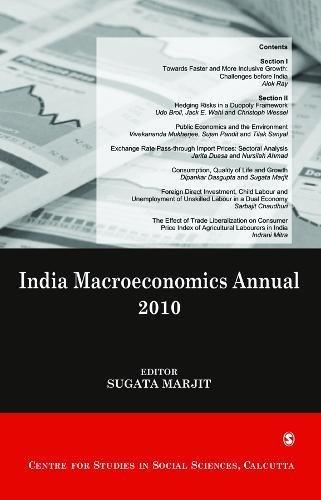 India Macroeconomics Annual 2010: Sugata Marjit (Ed.)