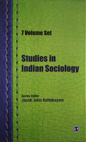Studies In Indian Sociology (7 Vols): Edited by Jacob