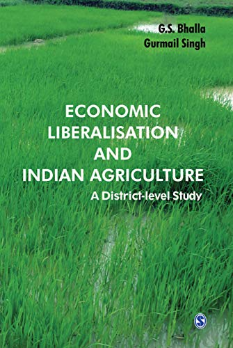 9788132108597: Economic Liberalisation and Indian Agriculture: A District-Level Study