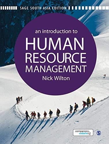An Introduction to Human Resource Management: Nick Wilton