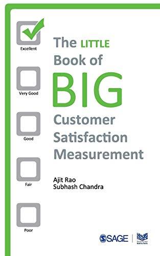 9788132109785: The Little Book of Big Customer Satisfaction Measurement (Response Books)
