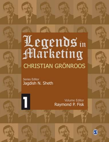 9788132110026: Legends in Marketing: Christian Gronroos