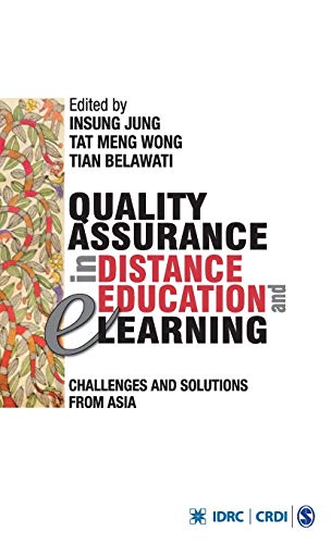 9788132110064: Quality Assurance in Distance Education and E-learning: Challenges and Solutions from Asia