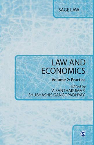 9788132110095: Law and Economics: Volume I: Theory & Volume II: Practice (SAGE Law)