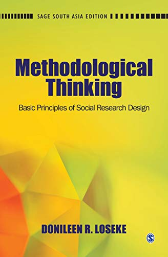 9788132110156: Methodological Thinking