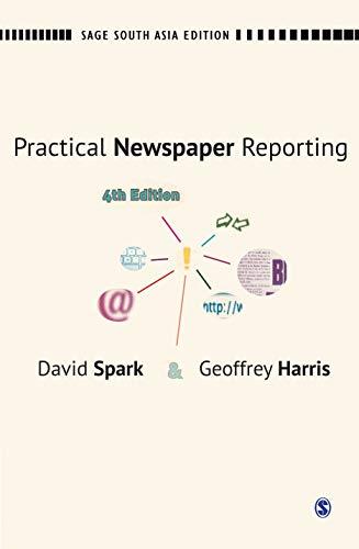 9788132110392: PRACTICAL NEWSPAPER REPORTING