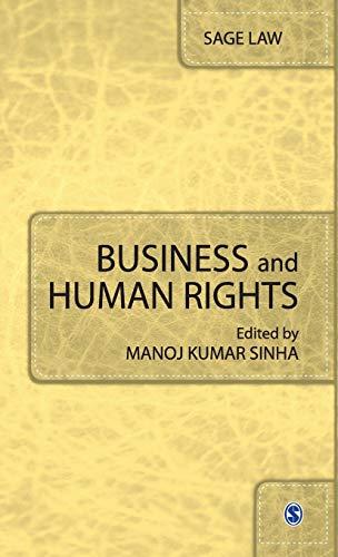 Business and Human Rights: Manoj Kumar Sinha