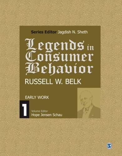 9788132113171: Legends in Consumer Behavior: Russell W. Belk