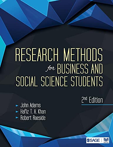 9788132113669: Research Methods for Business and Social Science Students