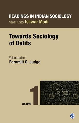 Readings in Indian Sociology, Volume 1: Paramjit S Judge (Eds)