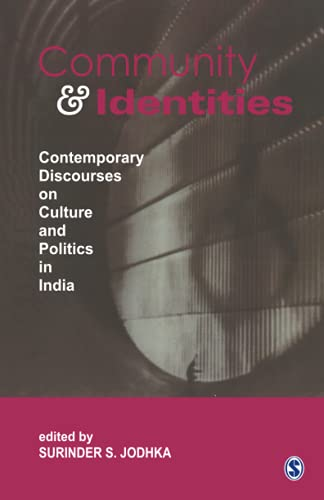 9788132113942: Community and Identities: Contemporary Discourses on Culture and Politics in India