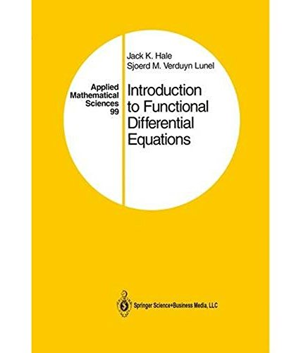 Introduction To Functional Differential Equations: Hale Jack K.