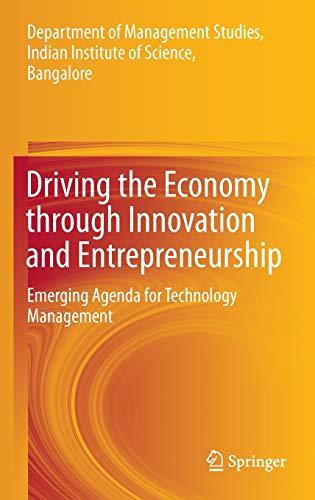 Driving the Economy through Innovation and Entrepreneurship