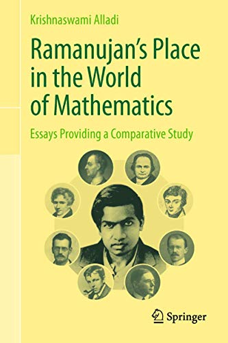 9788132207665: Ramanujan's Place in the World of Mathematics: Essays Providing a Comparative Study