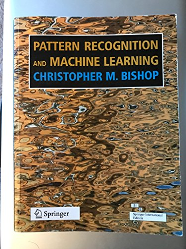 9788132209065: Pattern Recognition and Machine Learning 1st Edition